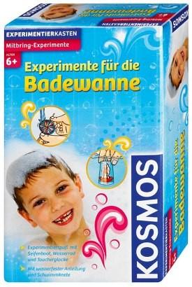 Experimente für die Badewanne Experimentierkasten