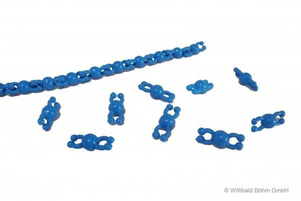"Perlenkette ""Pia"", blau"