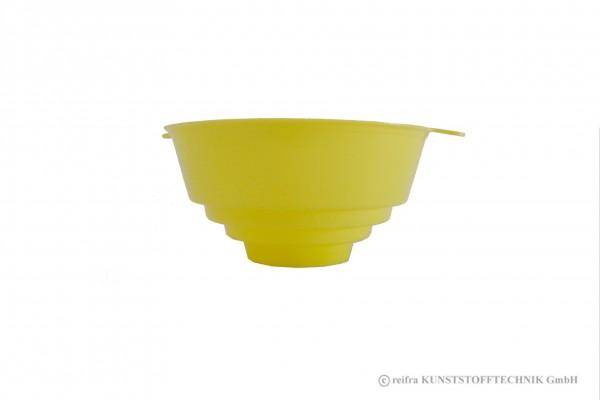 Einfülltrichter, gelb