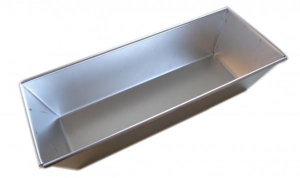 Kastenform 30 cm Weißblech - Kuchenform Backform