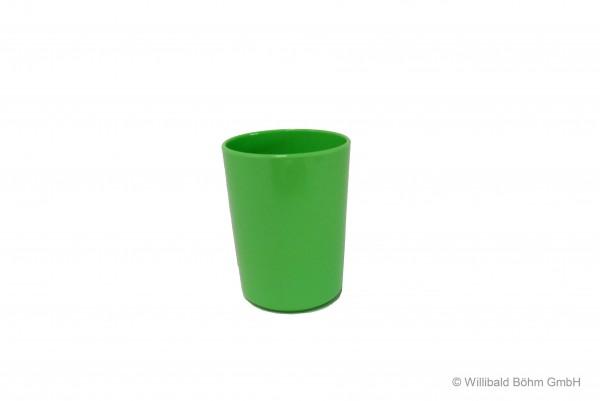 Becher dickwandig, 0,2 l, pastell-hellgrün