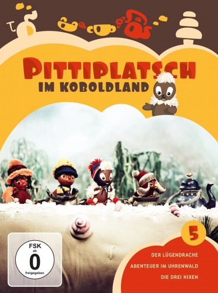 Pittiplatsch - 05/Pittiplatsch im Koboldland DVD