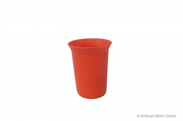 Trinkbecher, 0,25 l, pastell-orange