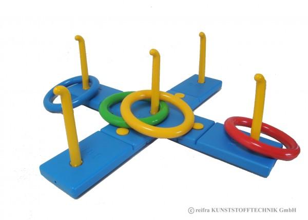 Balkenwurfspiel Kreuz