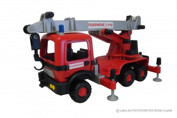 Feuerwehr Teleskopkranfahrzeug