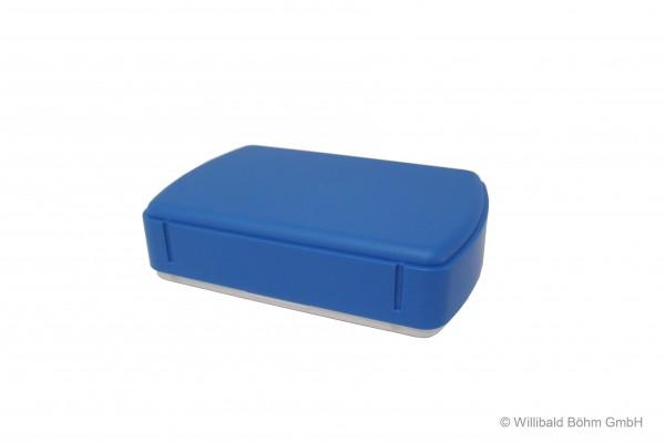 Brotdose, rechteckig, pastell-blau