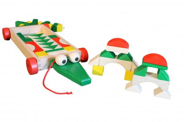 Bauwagen Krokodil