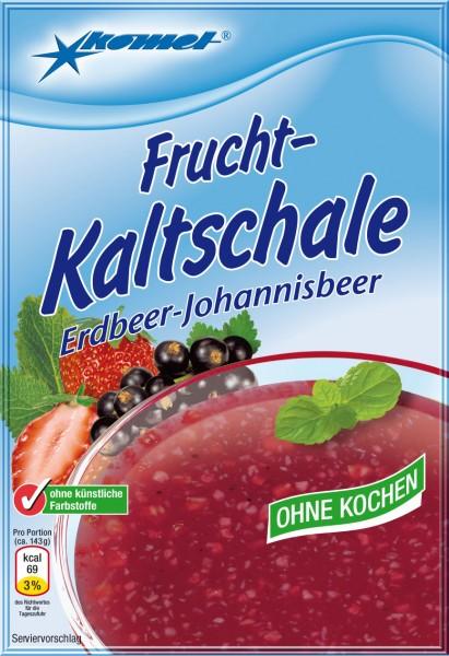 Frucht-Kaltschale Erdbeer-Johannisbeer, 71 g