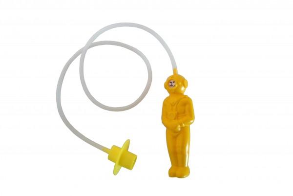 """""""Der kleine Tiefseetaucher"""", Farbe: gelb"""