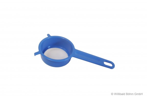 Sieb, 7 cm, pastell-blau