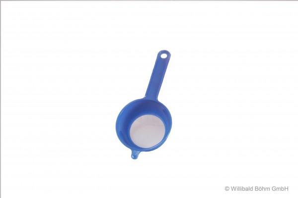 Teesieb, 6 cm, pastell-blau
