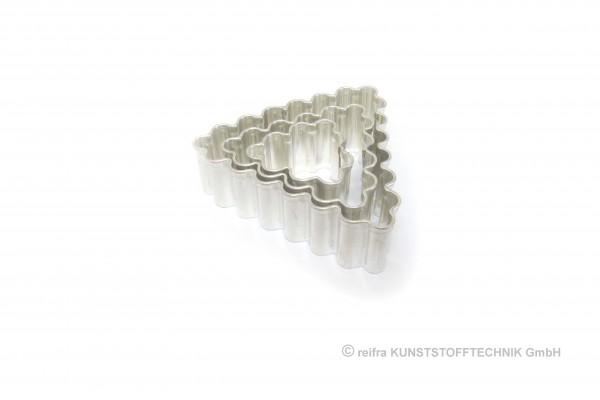 Lebkuchenausstechformen, Metall, 3-er Set