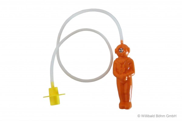 """""""Der kleine Tiefseetaucher"""", Farbe: orange"""