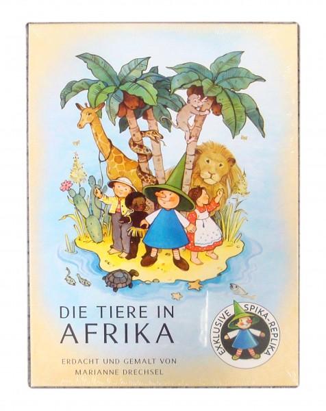 Würfelspiel - Die Tiere in Afrika