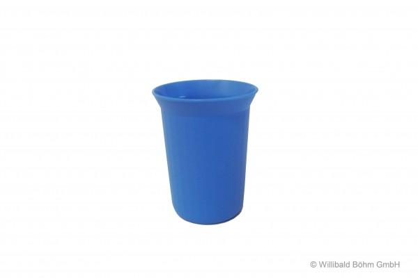 Trinkbecher, 0,25 l, pastell-blau