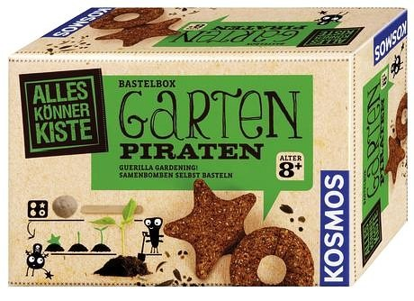 Garten-Piraten Bastelbox