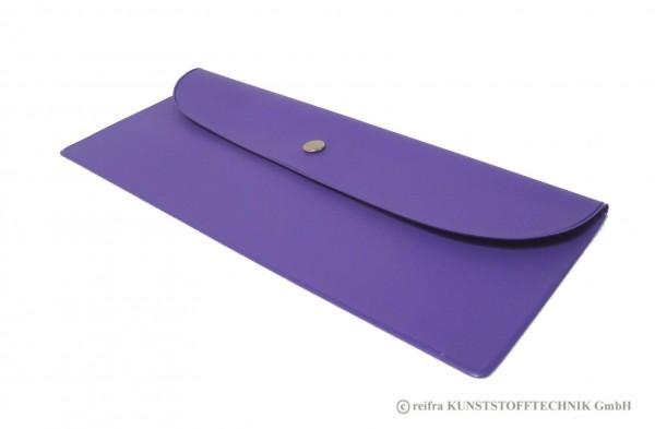 Bestecktasche lila