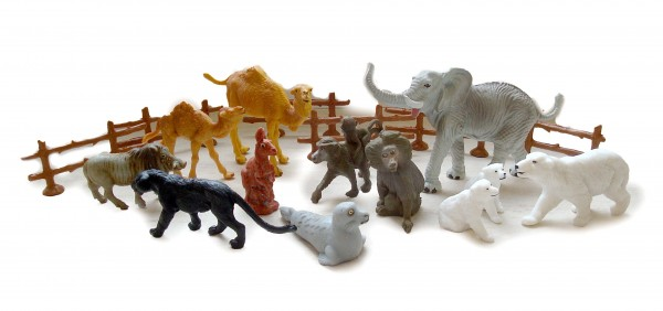 "Spielfiguren Sortiment ""ZOO"""