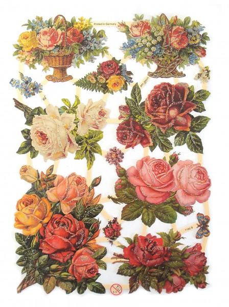 Glanzbilder, Blumen II