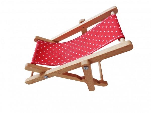 Liegestuhl für Puppen (Puppenstube)