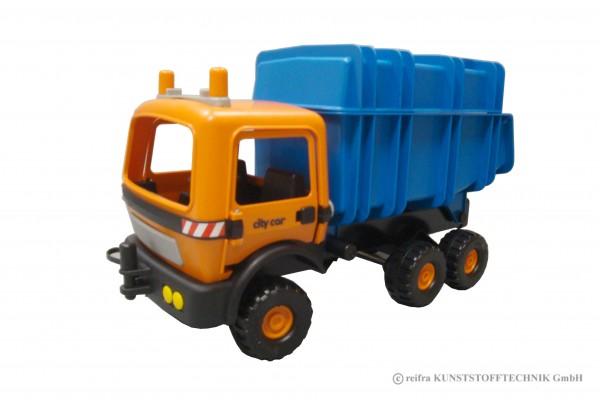 Cityserie Recyclingfahrzeug Aufsatz blau