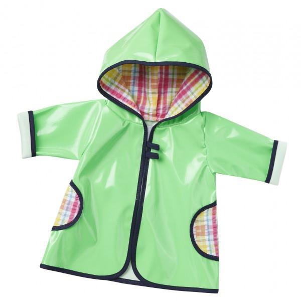 Regenmantel (grün) Größe 38