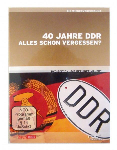 Die Berliner Mauer: 40 Jahre DDR - Alles schon