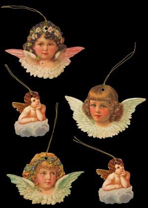 Geschenkanhänger Engel