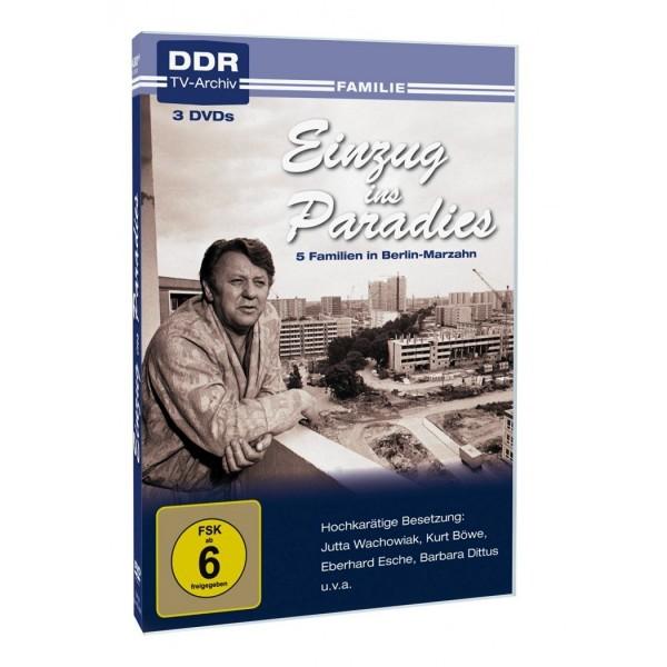 DVD Einzug ins Paradies - 3 DVDs