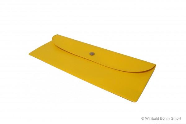 Bestecktasche, gelb