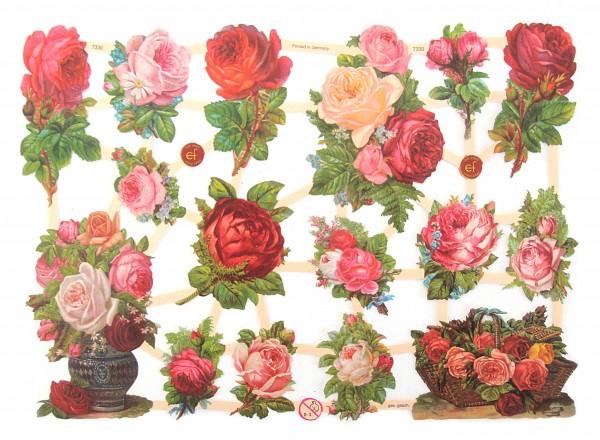 Glanzbilder, Rosen VI