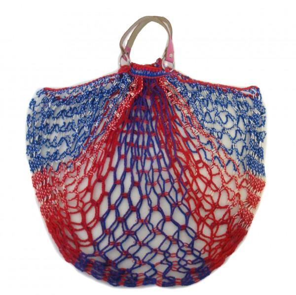 Einkaufsnetz classic rot / blau