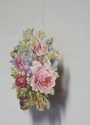 Rosen mit Maiglöckchen Raum-/ Fensterdekoration