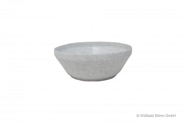 Dessertschale, granit-weiß