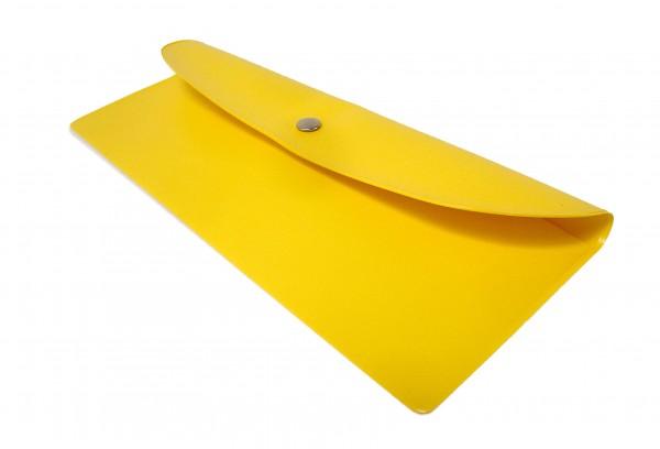 Bestecktasche gelb