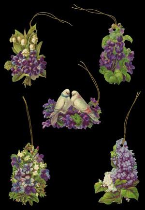 Geschenkanhänger Blumen