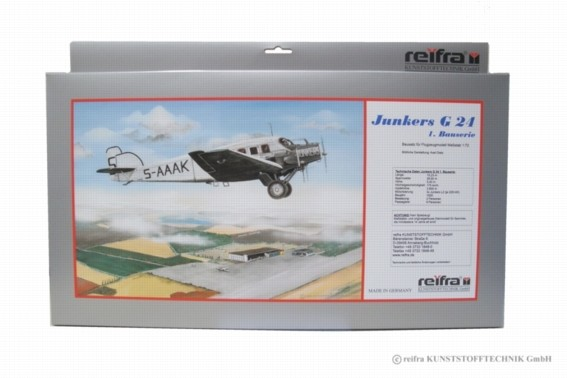 Flugzeugmodell Junkers 24 Bauserie 1