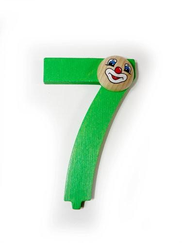 """Geburtstagszahl """"7"""""""