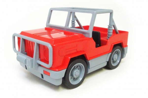 Junior Car Serie Jeep  rot