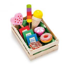 Sortiment Süßwaren - Kaufladen