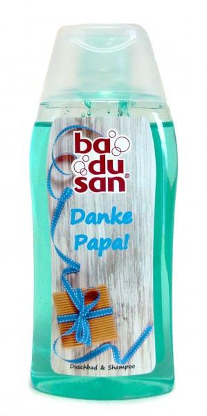 "Duschbad ""Danke Papa"", Exotic Eisblau 200 ml"