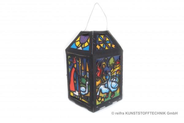 Kastenlaterne Sankt Martin 13 x 24 cm
