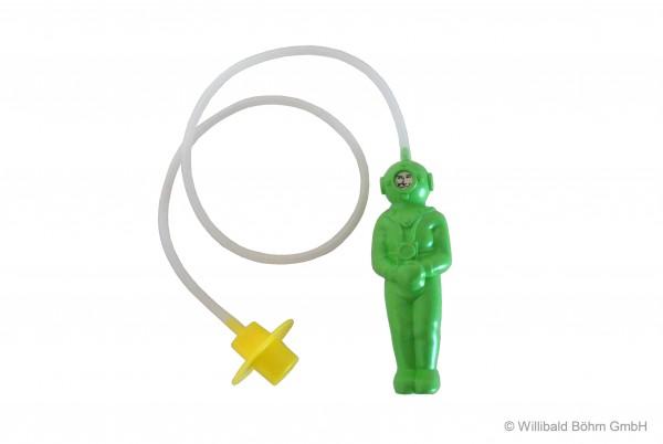 """""""Der kleine Tiefseetaucher"""", Farbe: hellgrün"""