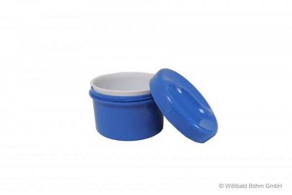 Zahnspangendose mit Einsatz, pastell-blau
