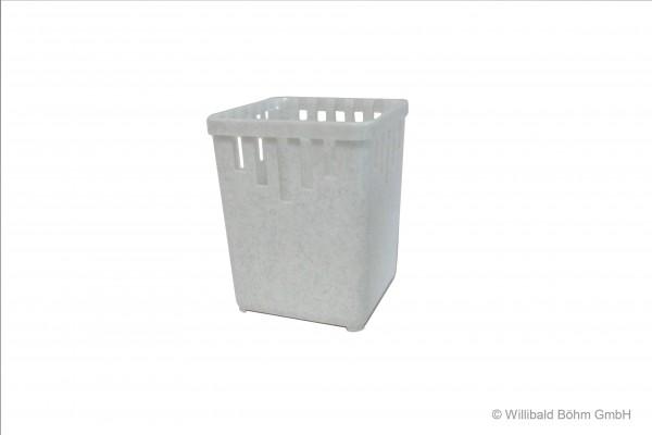 Bestecktrockner, 1-teilig, granit-weiß