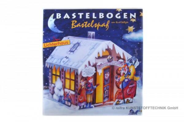 """Bastelbogen """"Lichterhaus"""""""