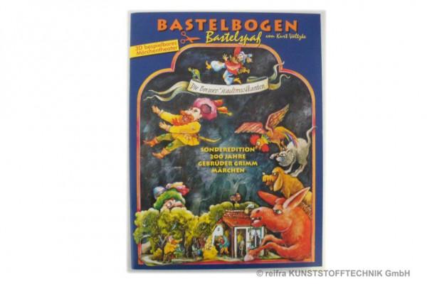 """Bastelbogen """"Die Bremer Stadtmusikanten"""""""