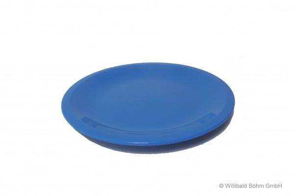 Teller, flach, pastell-blau