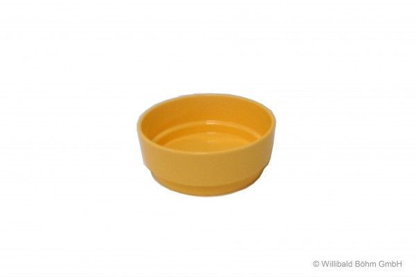 Kompottschale, pastell-gelb