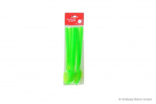 Longdrinklöffel, 6-er Pack, leuchtgrün